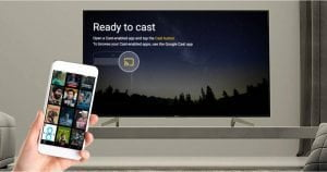 Setup chromecast on iphone